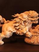 丸彫り 作品