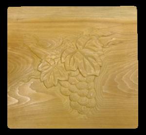 木彫 ぶどう