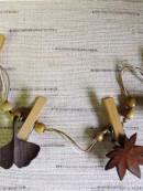 木彫 植物モチーフ
