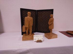 第14回きつつき木彫展・作品